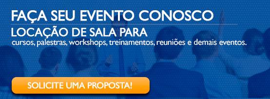 LOCAÇÃO DE SALA PARA EVENTOS cursos, palestras, workshops, treinamentos, reuniões e demais eventos.
